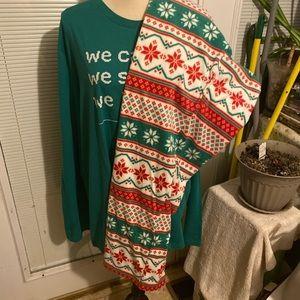jammies for your families Men's size XL pant set